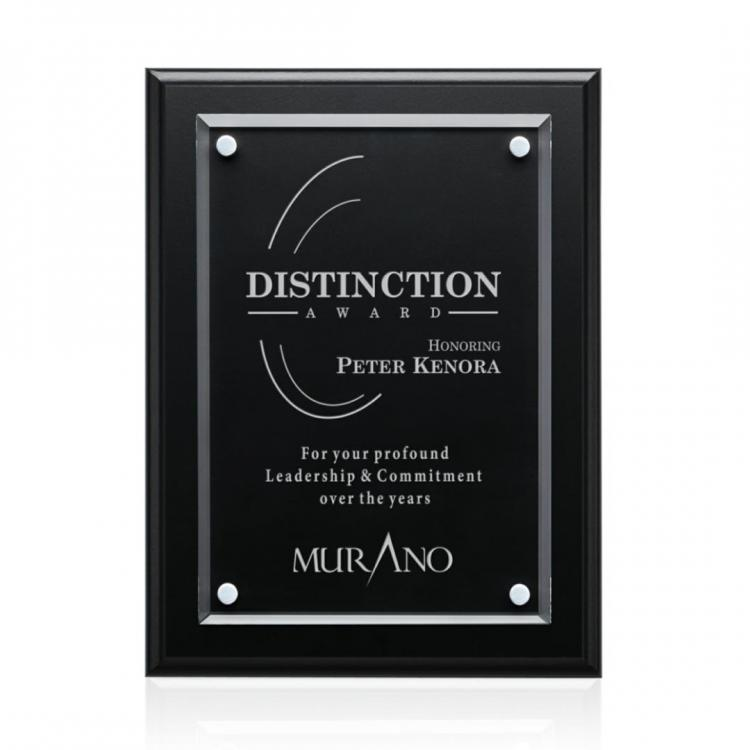 Ulster Plaque - Black