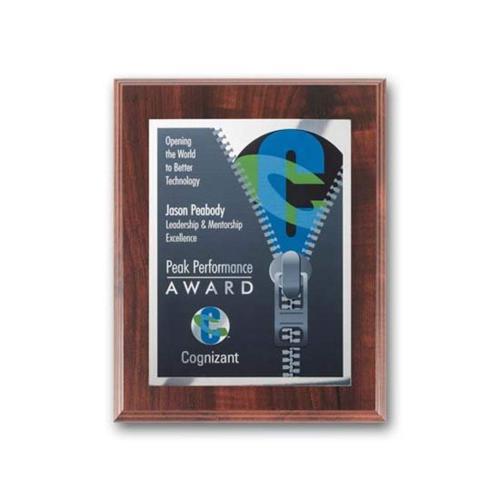SpectraPrint™ Plaque - Walnut Finish