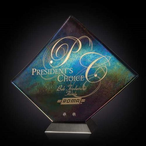 Solitare Award - Metallic