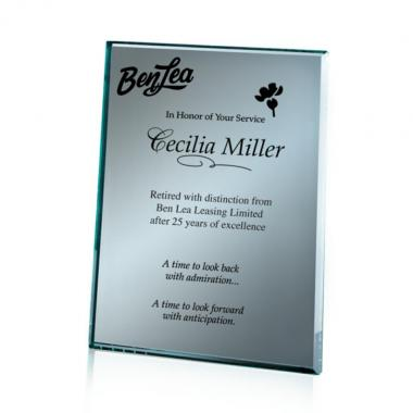 Mirror Plaque - Silver