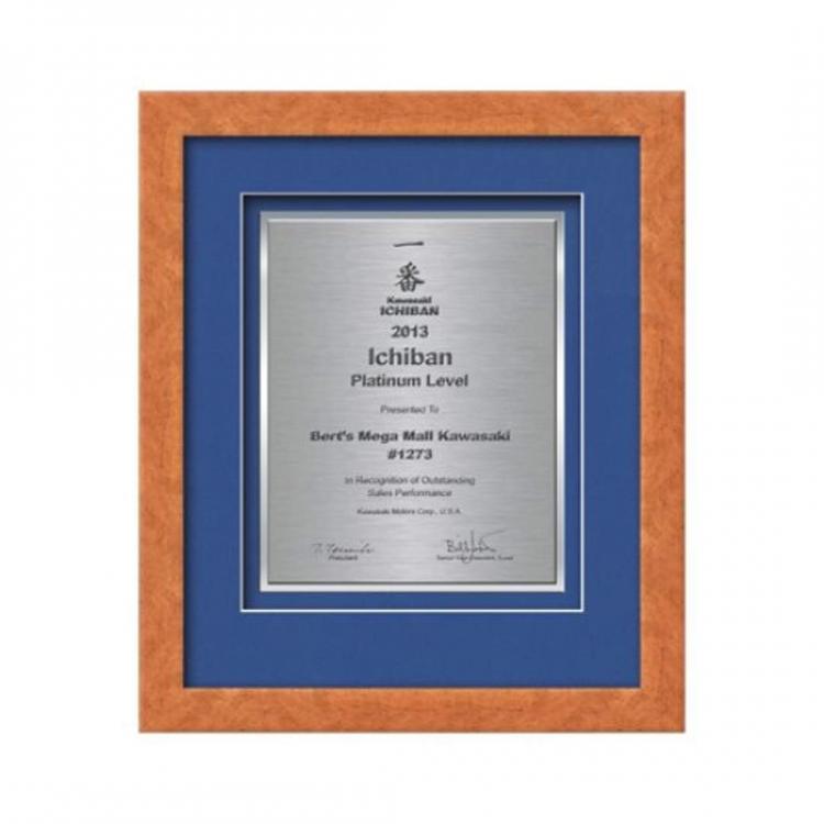Eldridge Certificate TexEtch Vert - Light Walnut