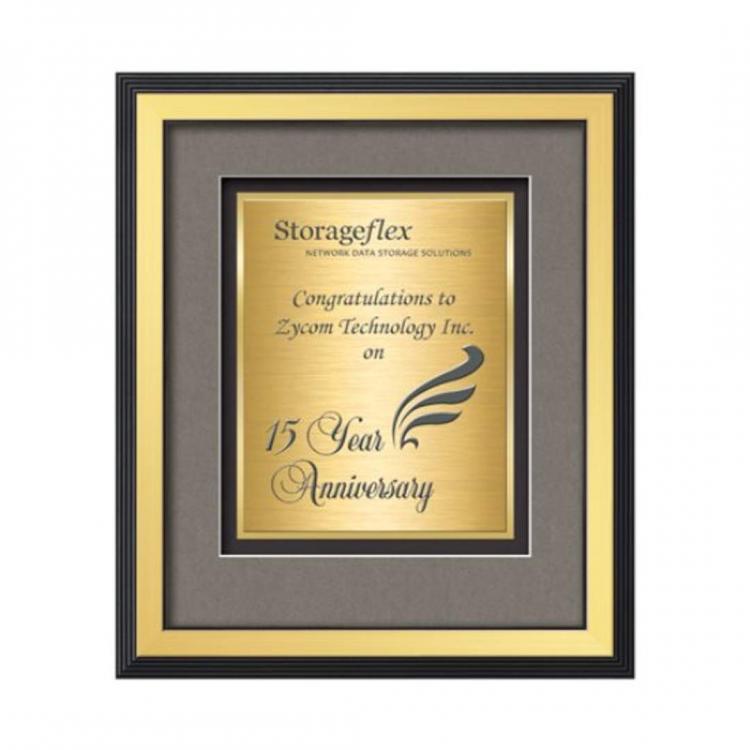 Jasper Certificate TexEtch Vert - Gold