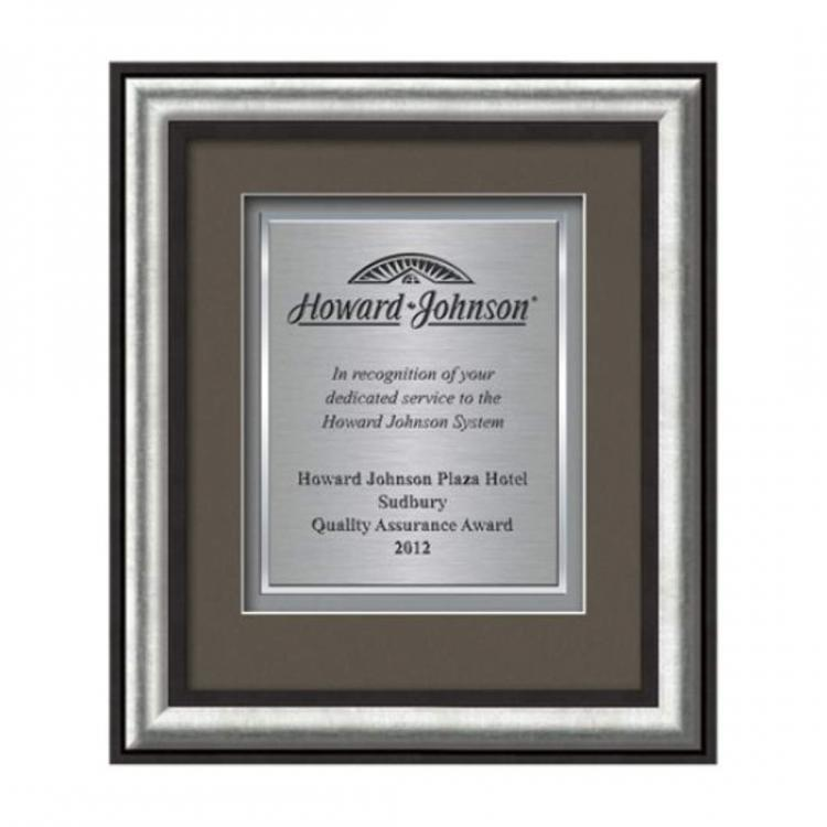 Grazia Certificate TexEtch Vert - Black/Silver