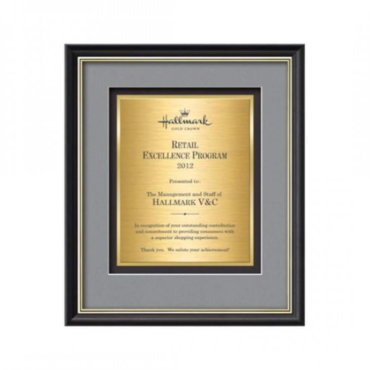 Baron Certificate TexEtch Vert - Black/Gold