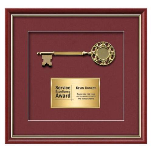 Baron Key - Mahogany/Gold