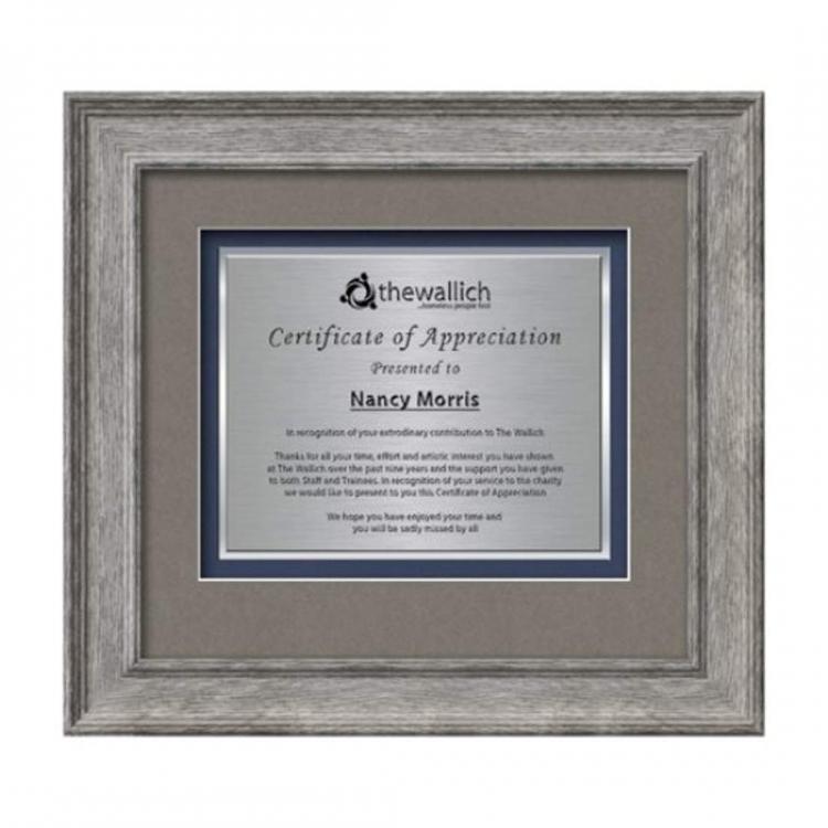 Calder Certificate TexEtch Horiz - Grey Oak