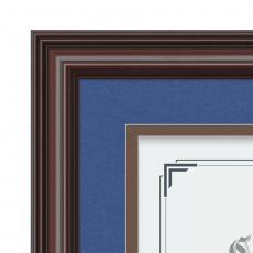 Certificate Frames - Cottingham - Mahogany