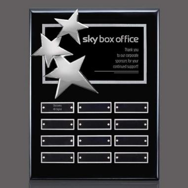 Constellation Vert P/Plaque - Black/Chrome 12 Plat