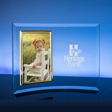 Vertical Gold Picture Frame Award