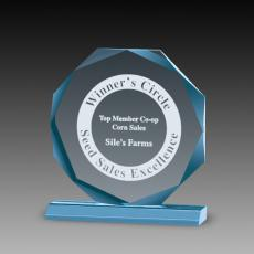 Awards & Recognition Ideas for Employees - Premium Octagon Acrylic Awards
