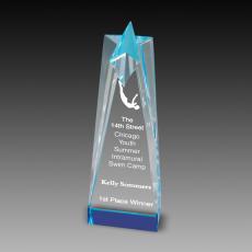 Custom Corporate Acrylic Awards - Star Tower Acrylic Awards