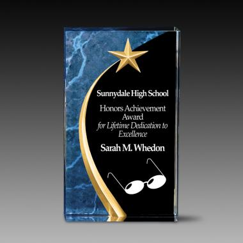 Star Dome Acrylic Award