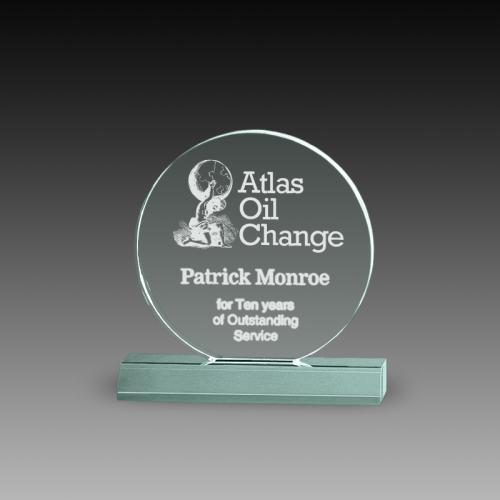 Circle Acrylic Awards
