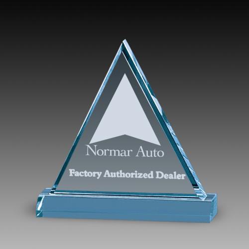 Triangle Acrylic Awards