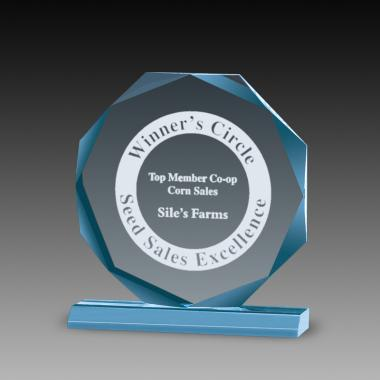 Premium Octagon Acrylic Awards