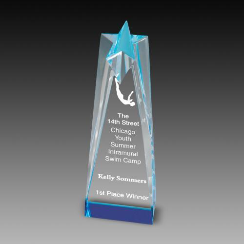 Star Tower Acrylic Awards