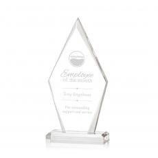 Custom Corporate Acrylic Awards - Palmer Award
