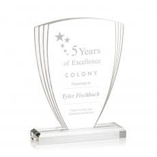 Custom Corporate Acrylic Awards - Marcella Award