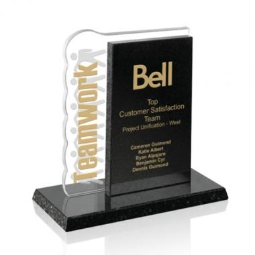 Perseverance Award Starfire/Granite