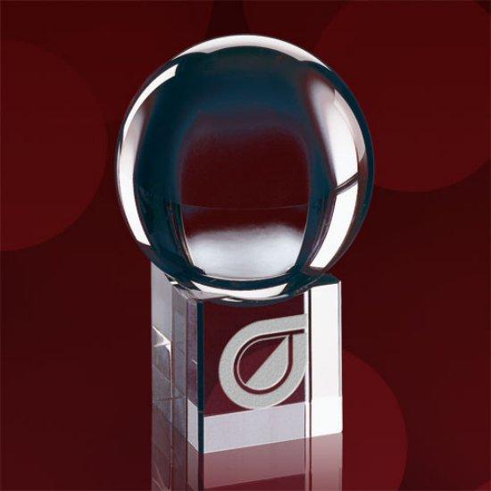 Optical Sphere Award on Cube Base