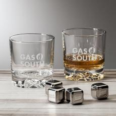 On the Rocks Tumblers & Glasses - Cassidy / Ice Cube Set