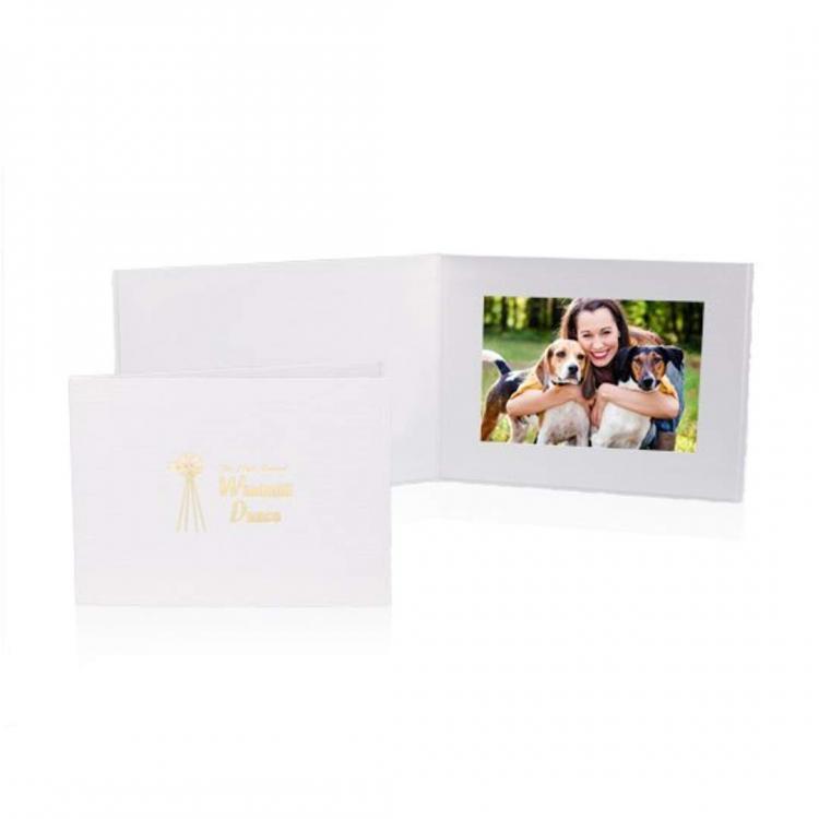 Roxbury Single Folder - White
