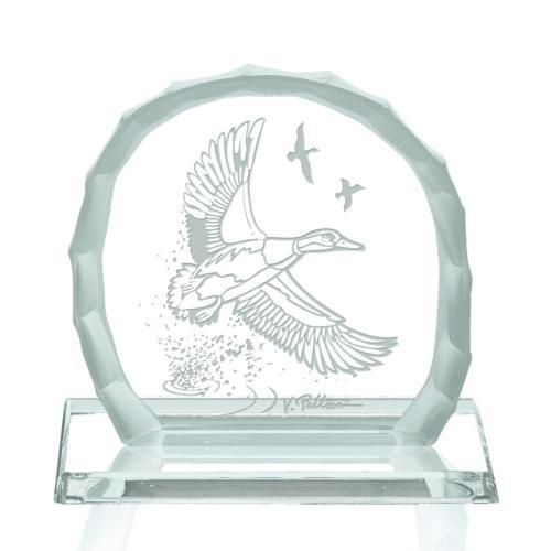 Duck Fleet Award on Base - Jade