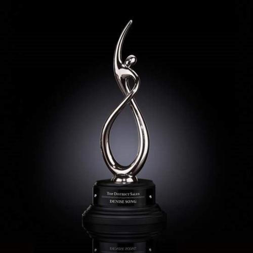 Continuum Award on Ebony - Silver