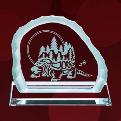 Turtle Island Award on Base - Jade