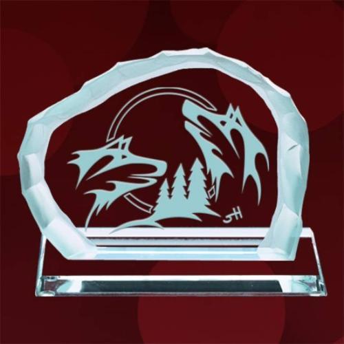 Brother Wolf Award on Base - Jade