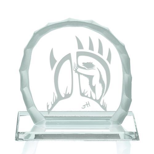 Bear Clan Award on Base - Jade