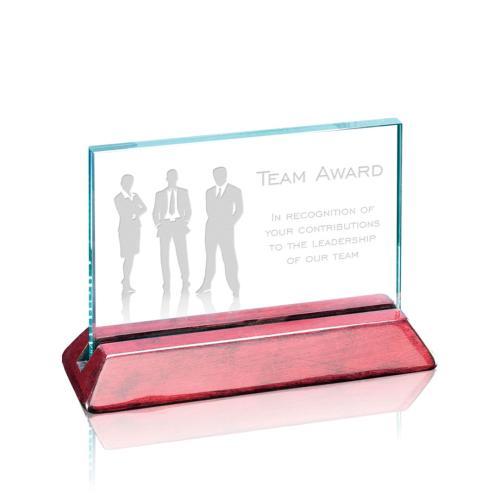Renfrew Horizontal Award - Jade/Rosewood