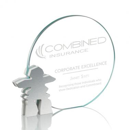Clement Inukshuk Award - Starfire/Aluminum