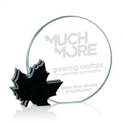 Clement Leaf Award - Starfire/Granite