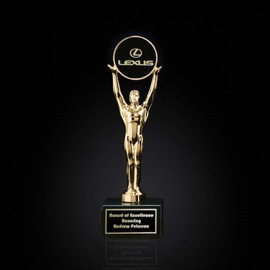 Champion Award on Black Marble