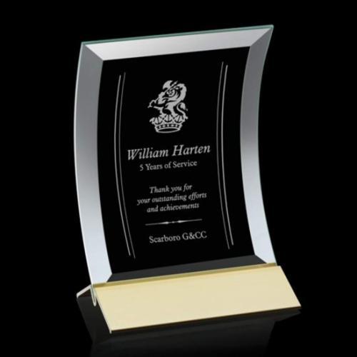 Dominga Award - Jade/Gold