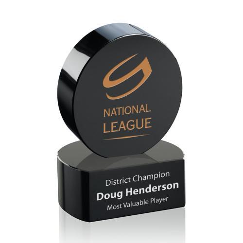 Hockey Puck Award on Base