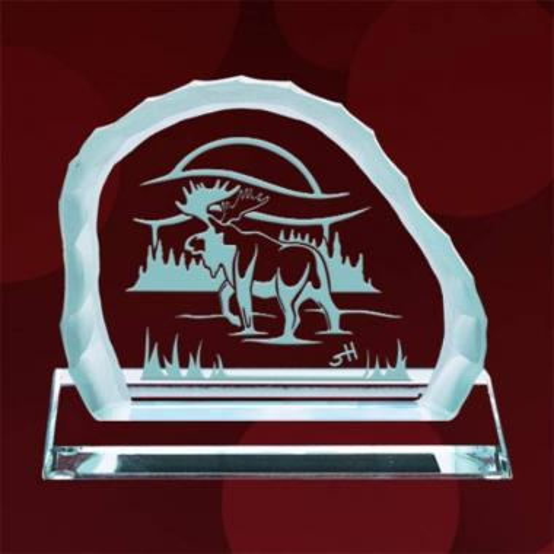 Solitary Path Award on Base - Jade