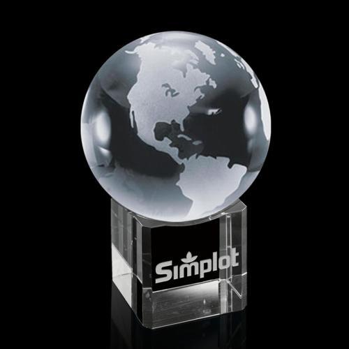 Globe On Cube Award