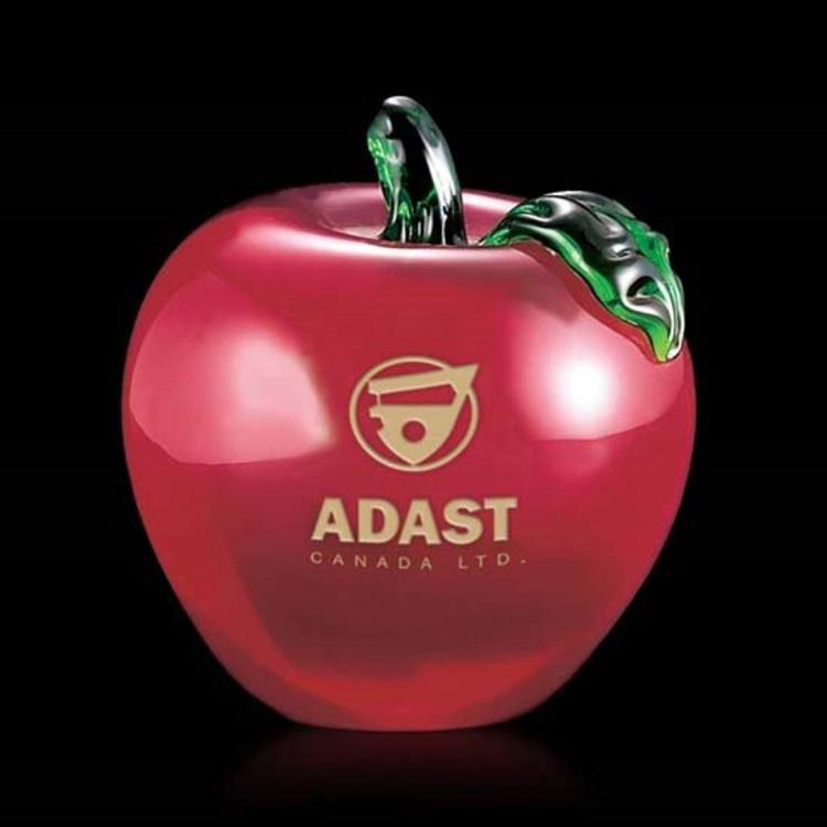 Beaufort Apple Award - Red/Green