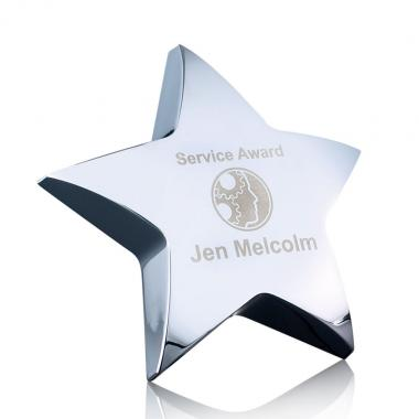 Hollister Standing Star Paperweight