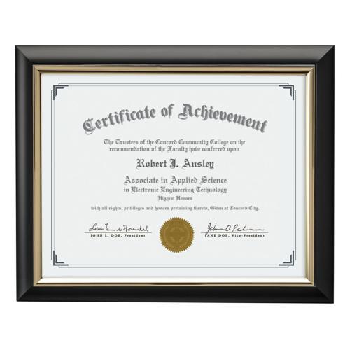 Trent Certificate  Frame