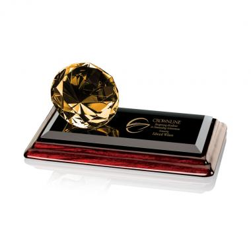 Gemstone Award on Albion - Amber