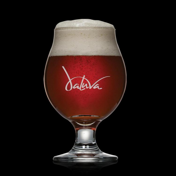 Belgian Beer Glass - Deep Etch