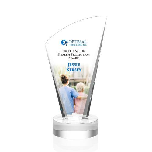 Brampton Award - Clear/VividPrint™