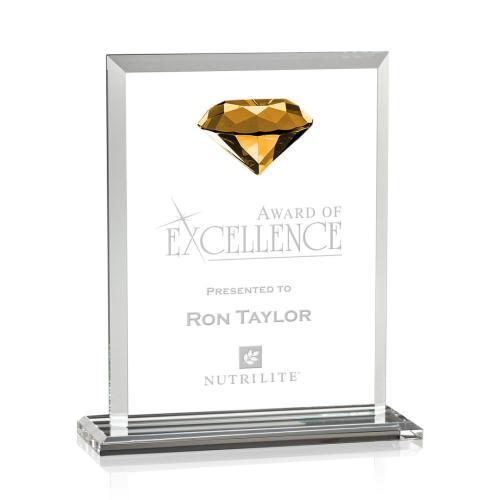 Sanford Gemstone Award - Amber