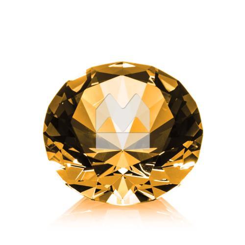 Optical Gemstone Award - Amber
