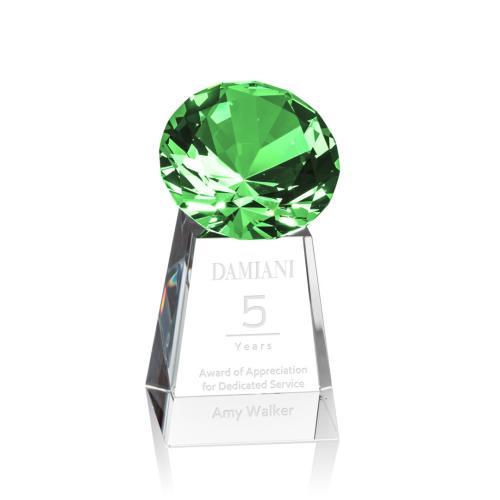 Celestina Gemstone Award - Emerald