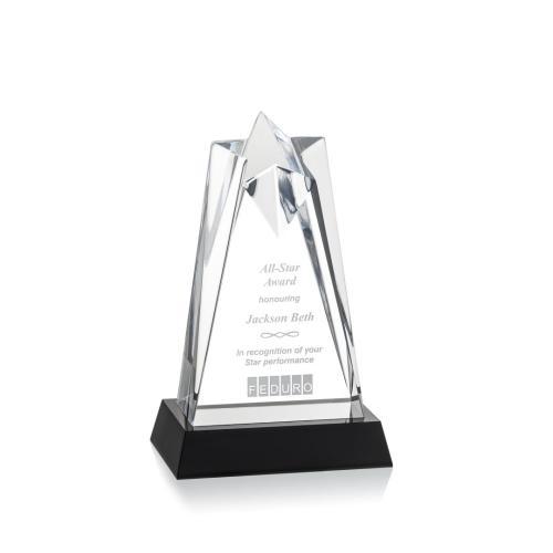 Rosina Star Award on Base - Clear