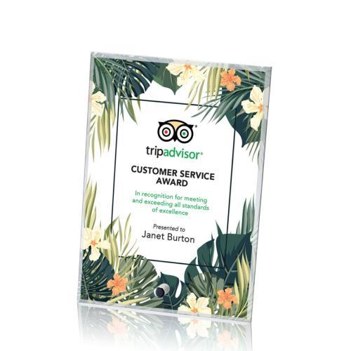 Cantebury Vertical Rectangle Award - VividPrint™